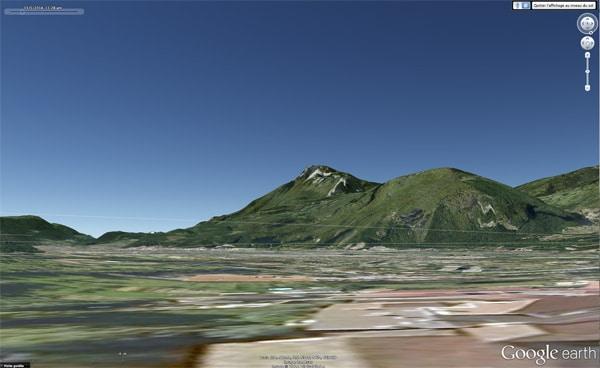 vue prise depuis St Egreve par Google